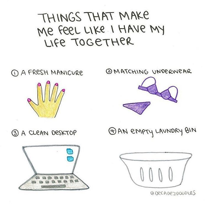 Aaand I Have None Of These Things