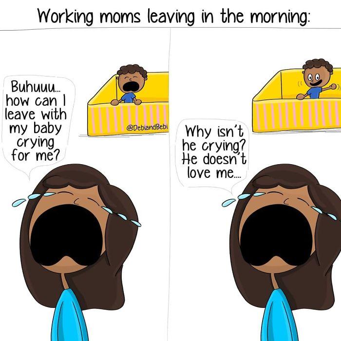 Motherhood-Moments-Comics-Debi-And-Bebi-Sabrina-Lone