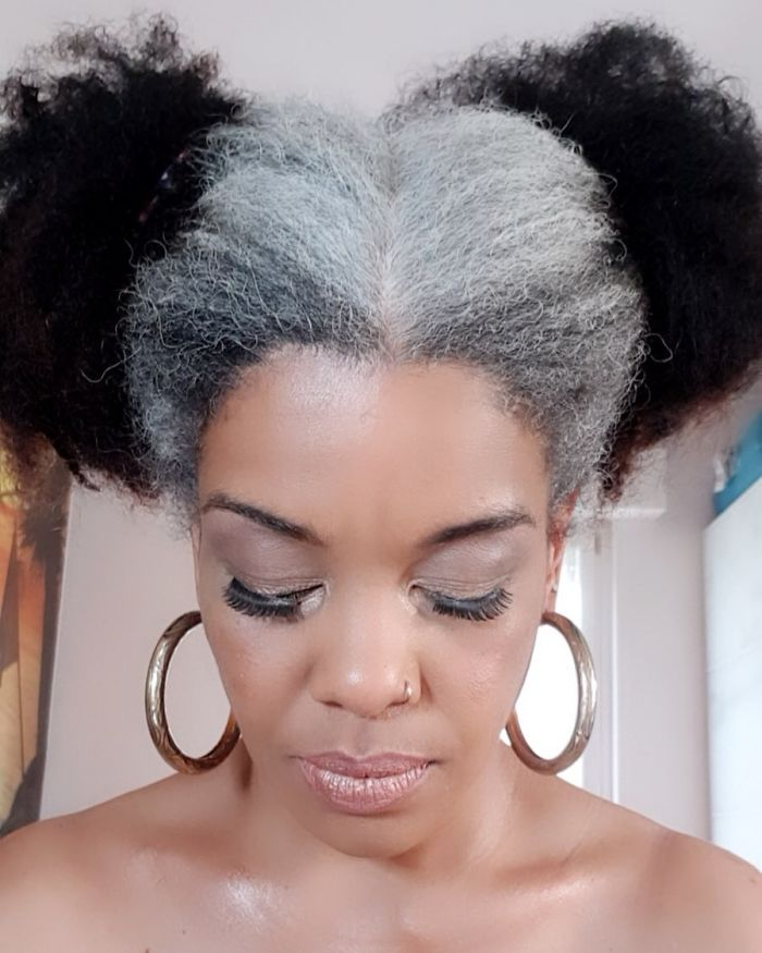 These 30 Women Who Ditched Dyeing Their Hair Look So Good, They May Convince You To Do The Same (New Pics)