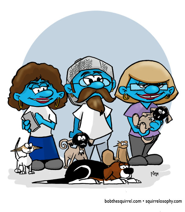 In The Style Of The Smurfs