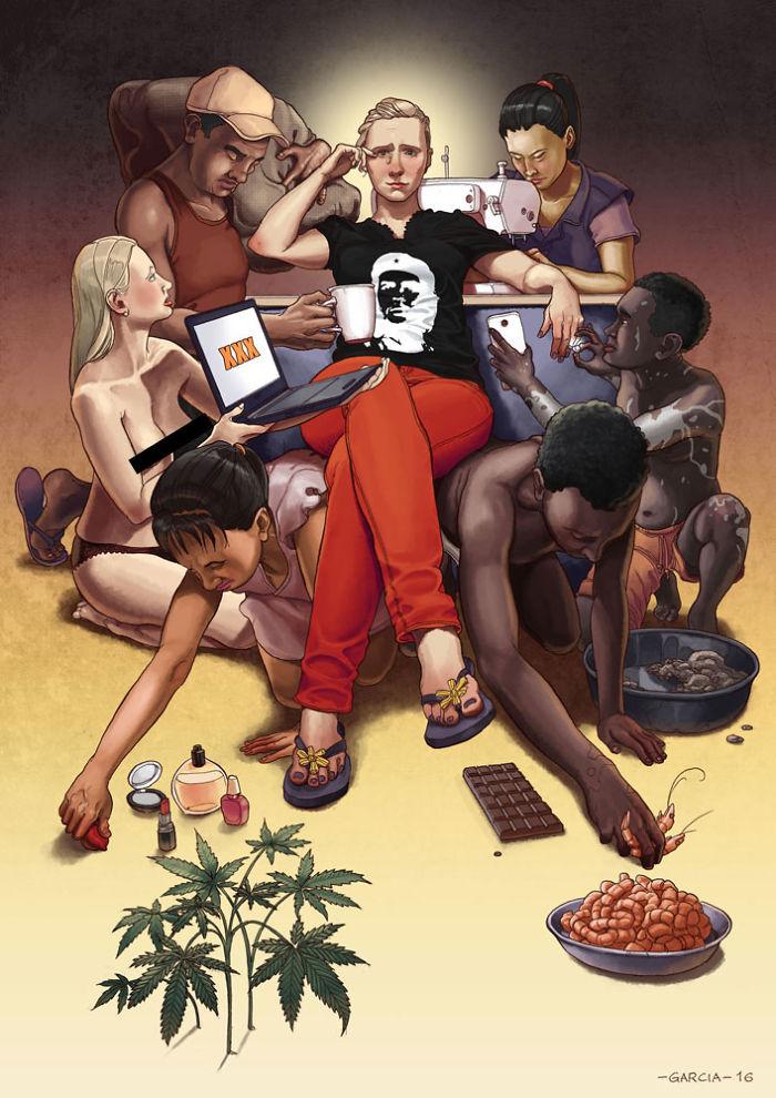 Tus esclavos personales