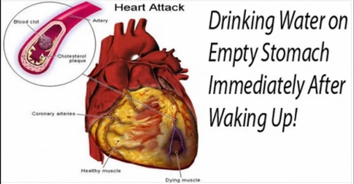 Drink Water On An Empty Stomach Immediately After Waking Up!