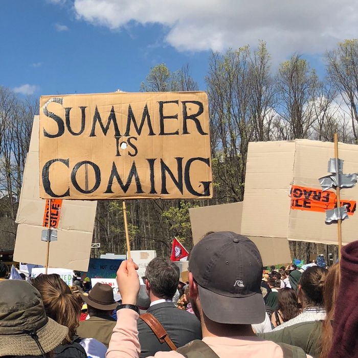 Here Are The 30 Best Signs From The 2019 Climate Strike