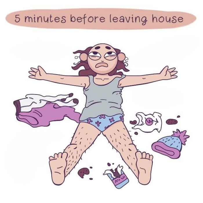 Everyday Girls Problems Illustrated In Funny And Relatable Comics