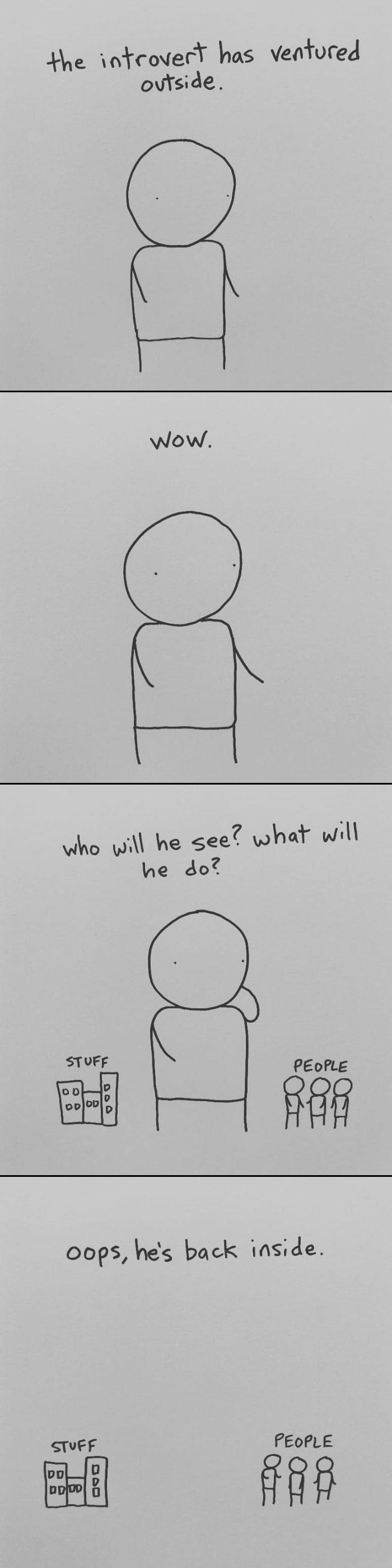 I Draw Minimalist ics About My Mental Health To Help