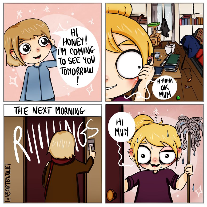 20 Funny Comics Inspired By My Daily Life (Yes, Another One)