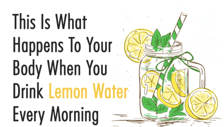 This Is What Happens To Your Body When You Drink Lemon Water Every Morning