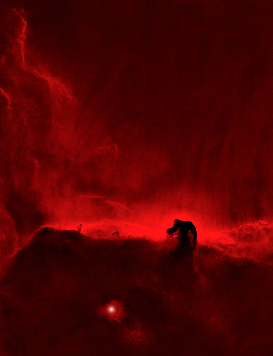 The Sir Patrick Moore Prize For Best Newcomer Joint: 'The Horsehead Nebula' By Rob Mogford