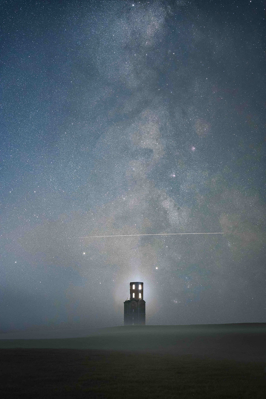 People And Space Runner-Up: 'Above The Tower' By Sam King