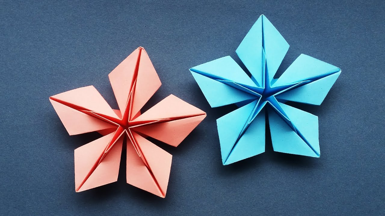 How To Make A Paper Star (Origami Star)