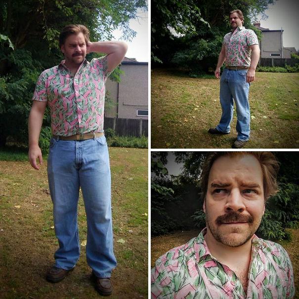 Jim Hopper Cosplay From Stranger Things Season 3