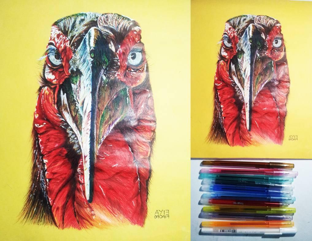 Ballpoint And Gel Ink Art
