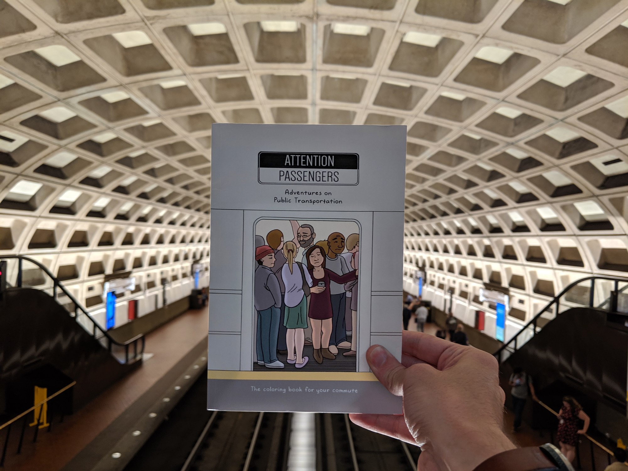 I Made A Coloring Book About The Weird, Annoying, And Amazing Things I See On Public Transportation