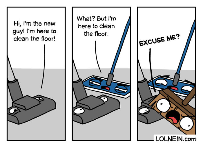 Clean The Floor
