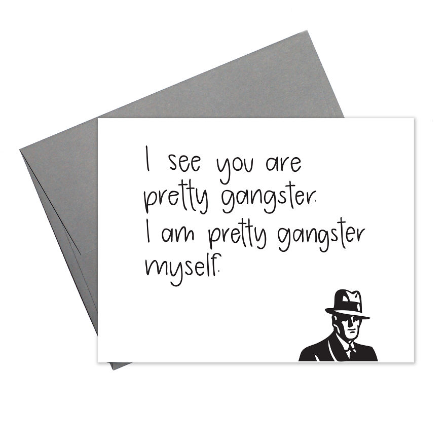 This Card Frequently Gets Sent And Subsequently Framed For The Fridge
