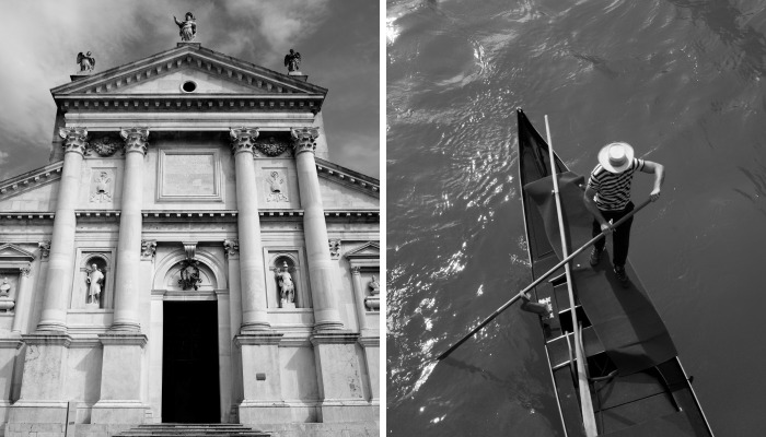 I Went To Venice And Brought Back Some Black And White Pictures