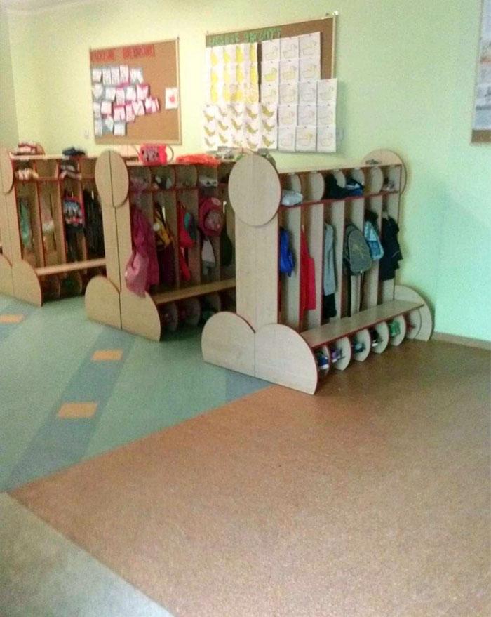 Hangers At School...