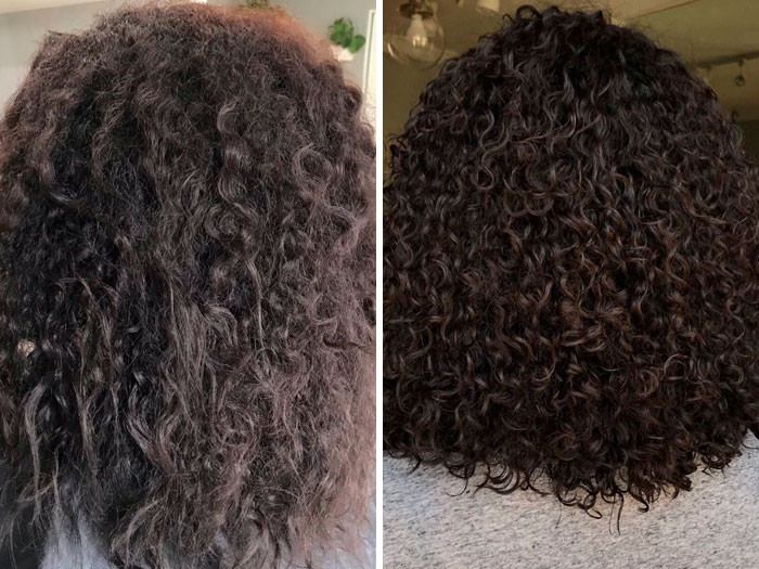 This Hairdresser Showcases How She Fixes Clients' Curls And It's Impressive