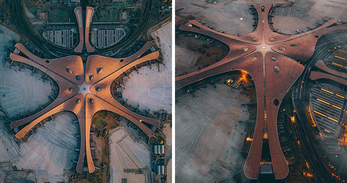Beijing Opens A New Airport With The World's Largest Terminal That Has A Roof Window The Size Of 25 Football Fields