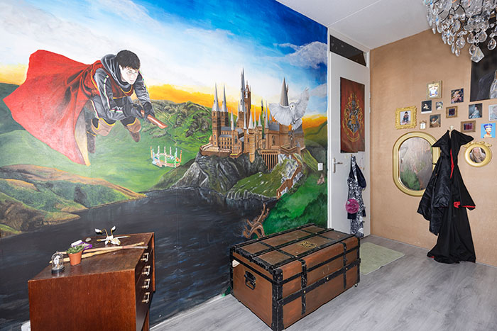 19 Pics Of My Daughter's Bedroom Turned Into Hogwarts