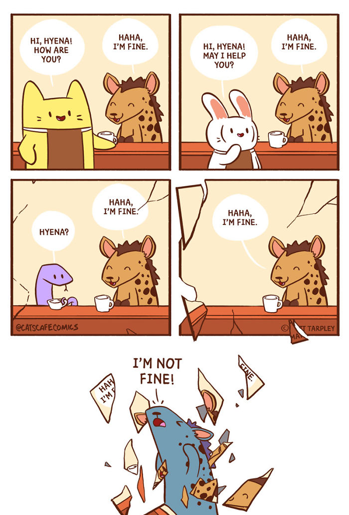 32 Wholesome Comics By Cat's Cafe That Will Brighten Your Day.