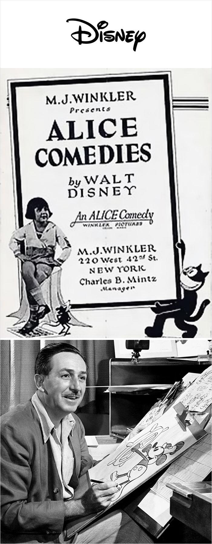 """Animación """"Comedias de Alice"""" (1923)"""