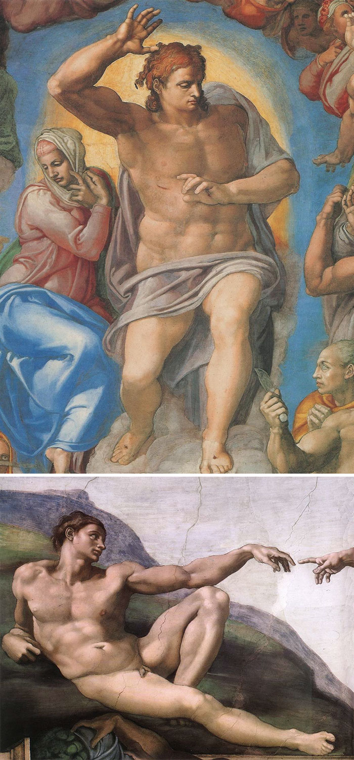 If Everyone Is Beautiful, Naked, And Stacked, It's Michelangelo