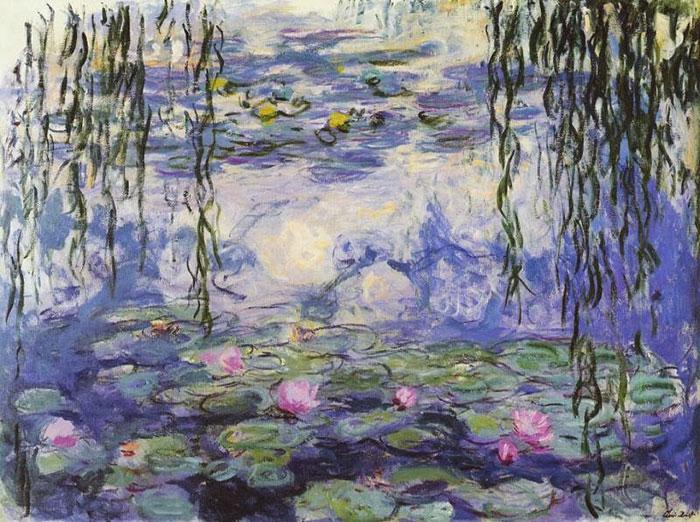 Dappled Light But No Figures, It's Monet