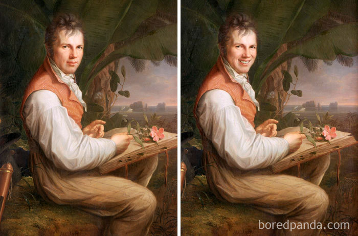 Alexander Von Humboldt By Friedrich Georg Weitsch