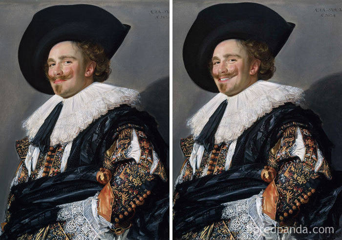 Laughing Cavalier By Frans Hals