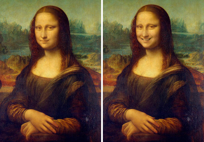 We Re-Imagined These 30 Famous Portraits With A Smile And It's Hilarious