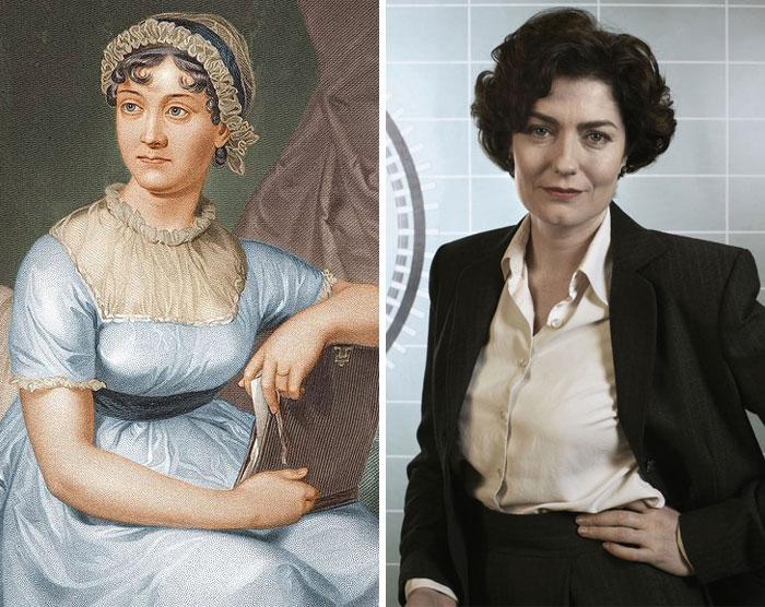 Jane Austen & Anna Chancellor