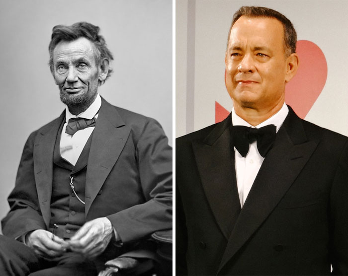 Abraham Lincoln & Tom Hanks