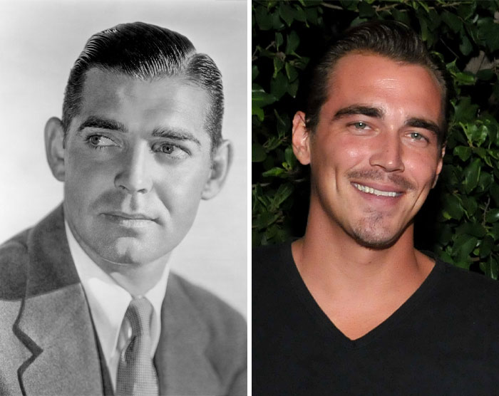 Clark Gable & Clark James Gable