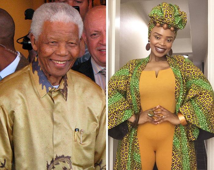 Nelson Mandela & Zoleka Mandela