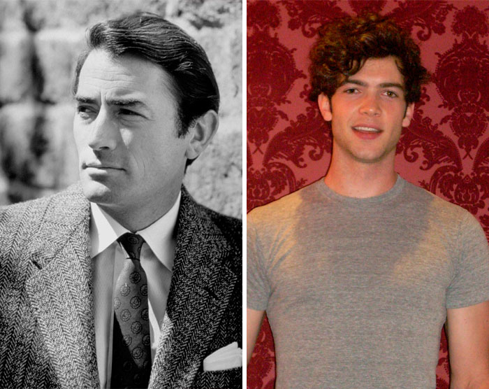 Gregory Peck & Ethan Peck