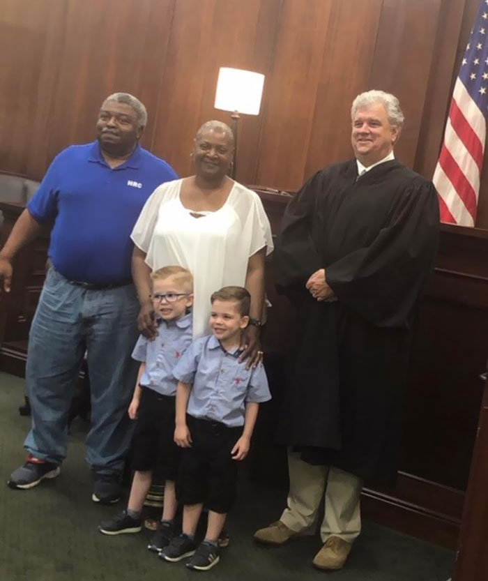 My Aunt's Friends Just Finalized The Adoption Of Their 2 Kids