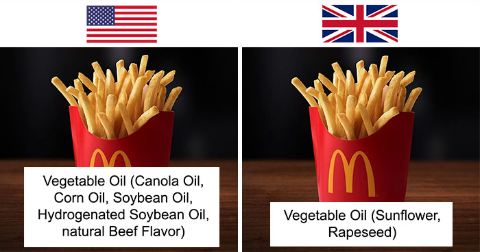 This Woman Wrote Down Lists Of Ingredients Of US And UK Products, And The Difference Is Disturbing