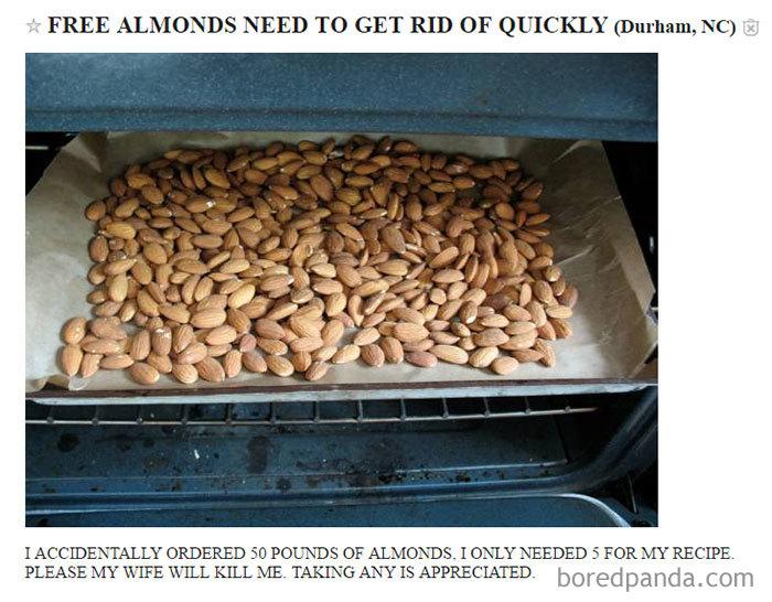Free Almonds!