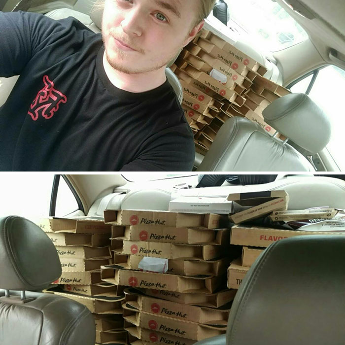 I'm The Guy From Your Math Books Who Has A Ton Of Pizzas In Their Car