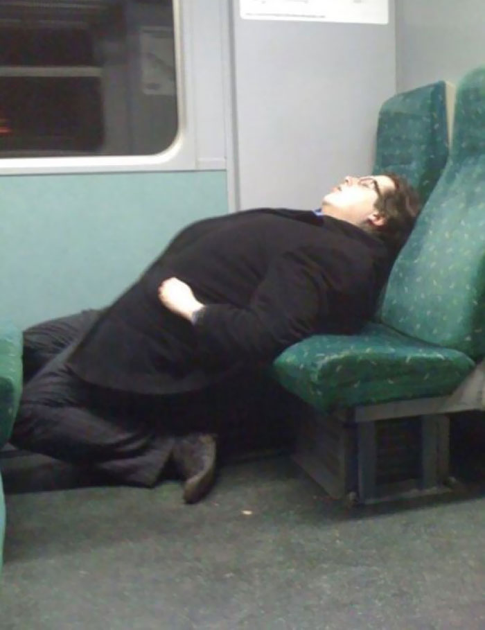 Interesting Sleep Pose
