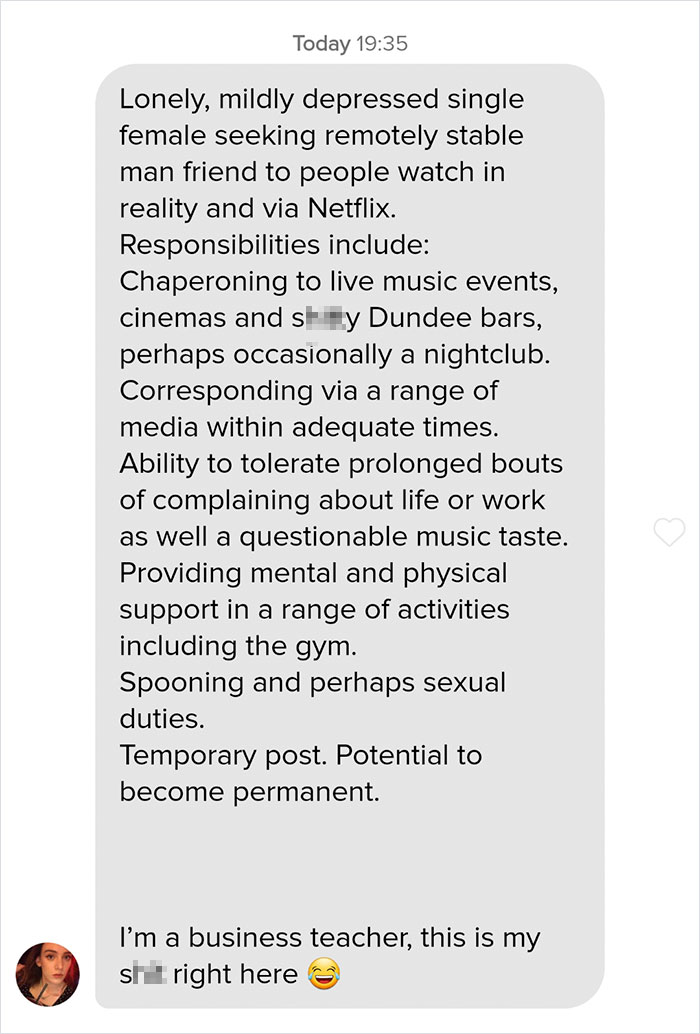 Guy Sends A \'Cover Letter\' To His Tinder Match Who\'s A ...