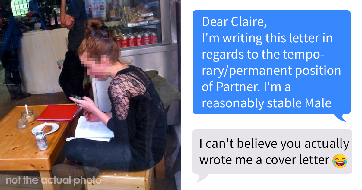 Guy Shows How To Get Attention On Tinder By Sending A Girl His Dating 'Cover Letter'