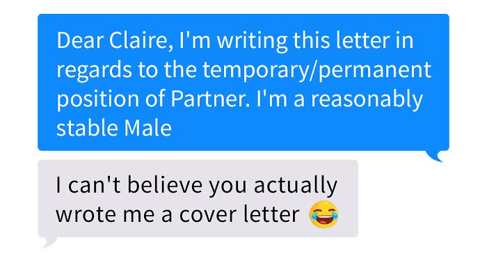 Guy Sends A 'Cover Letter' To His Tinder Match Who's A Business Teacher, Completely Nails It