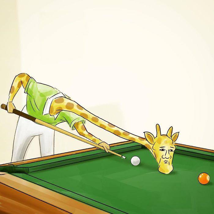 Giraffe-Life-Problems-Illustrations-Keigo