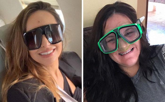Brazilian Secretary Recreates Celebrity Photos With A Humorous Twist (80 Pics)