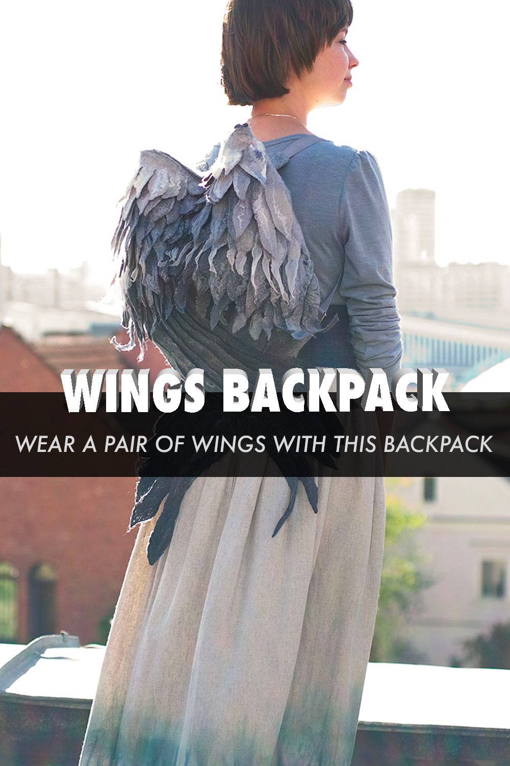 Wear A Pair Of Wings With This Fantastic Backpack