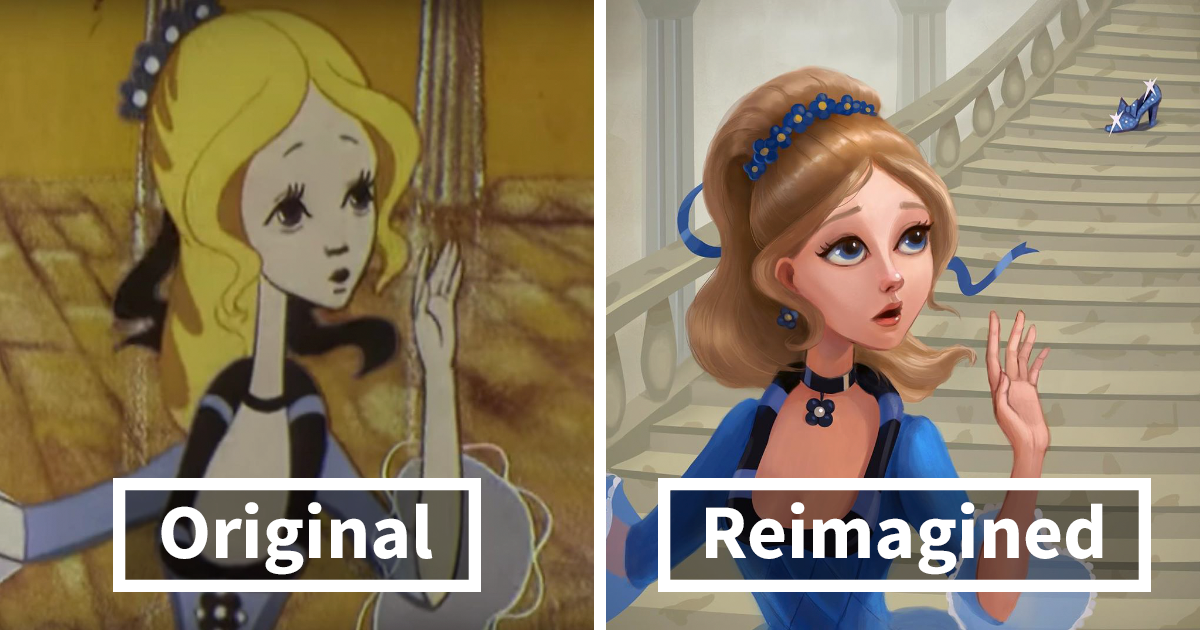 I Was Inspired By How Other Artists Reimagined Disney Princesses, So I Decided To Illustrate Soviet Princesses (8 Pics)