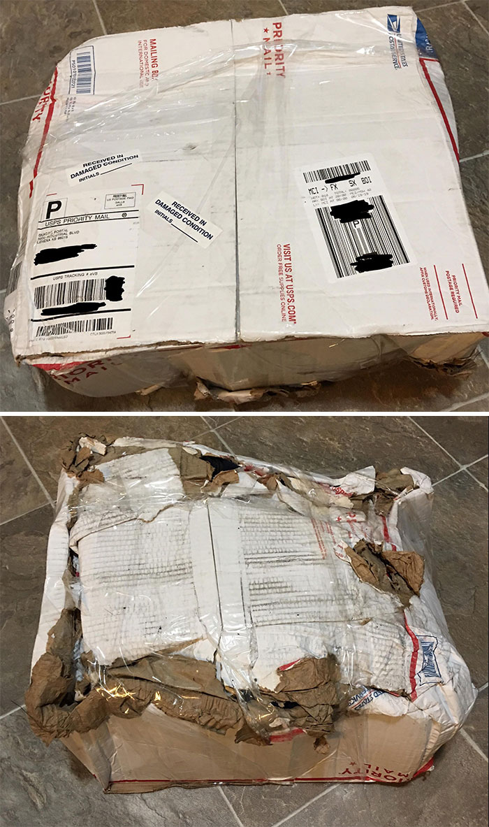 I'm A Carrier For USPS. I Ordered My Uniforms For The Year A Few Days Ago And This Is How They Arrived. So Is This Why We Have A Bad Rep?