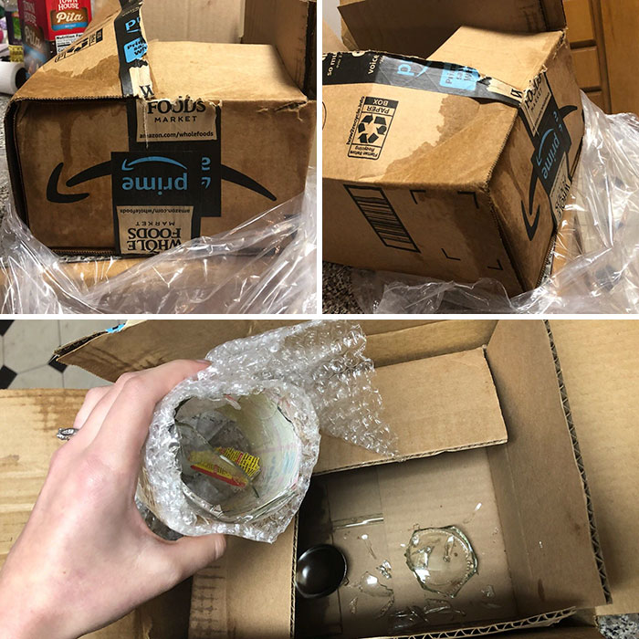 How My Apple Cider Arrived Today...